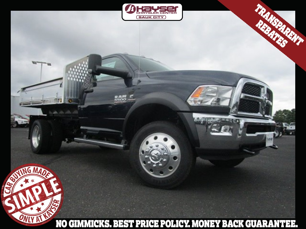 2017 Ram 5500 Regular Cab DRW 4x4, Tafco Dump Body #H7833 - photo 1