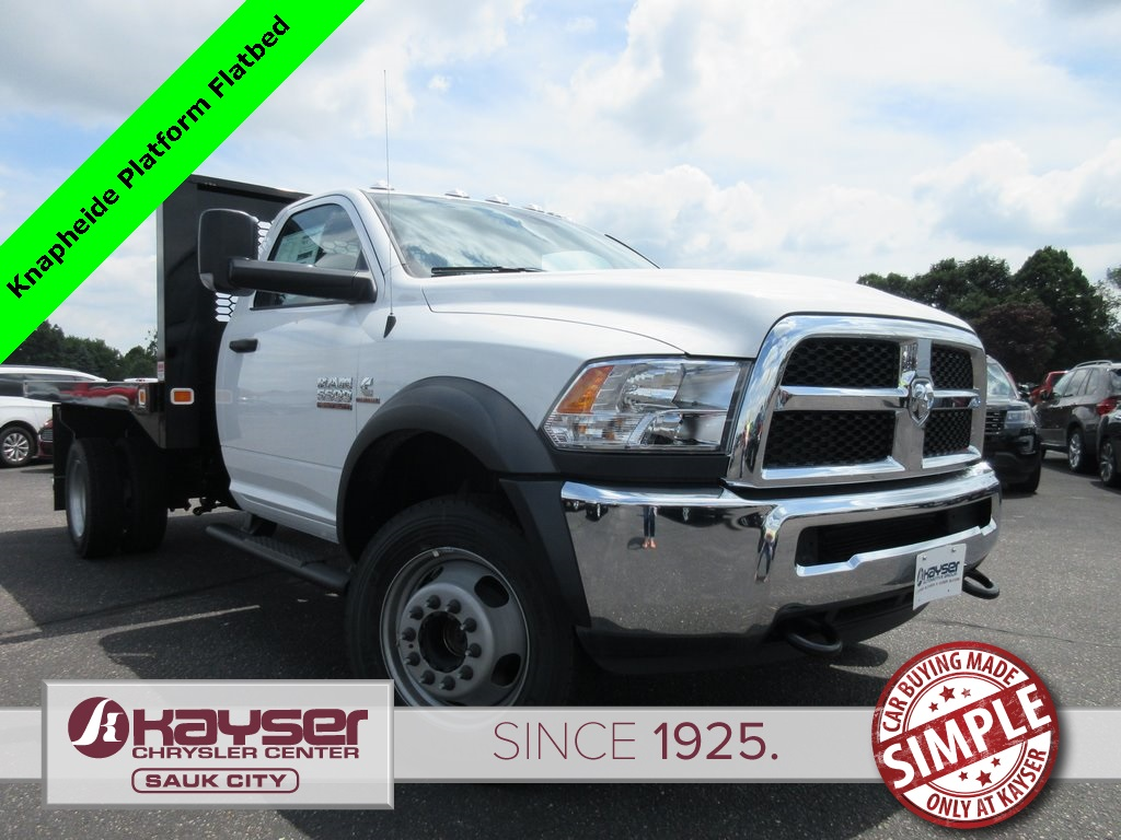 2018 Ram 5500 Regular Cab DRW 4x4,  Knapheide Value-Master X Platform Body #J7970 - photo 1