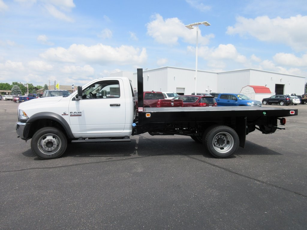 2018 Ram 5500 Regular Cab DRW 4x4,  Knapheide Value-Master X Platform Body #J7970 - photo 6