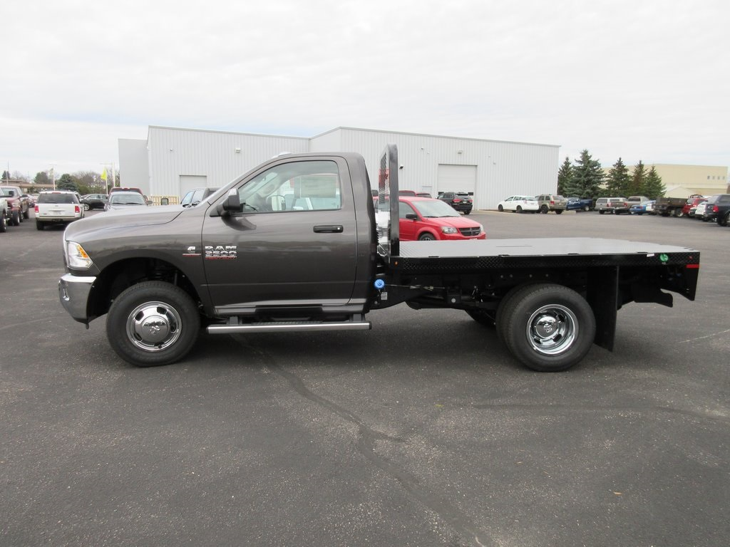 2018 Ram 3500 Regular Cab DRW 4x4, Knapheide Platform Body #J8011 - photo 6