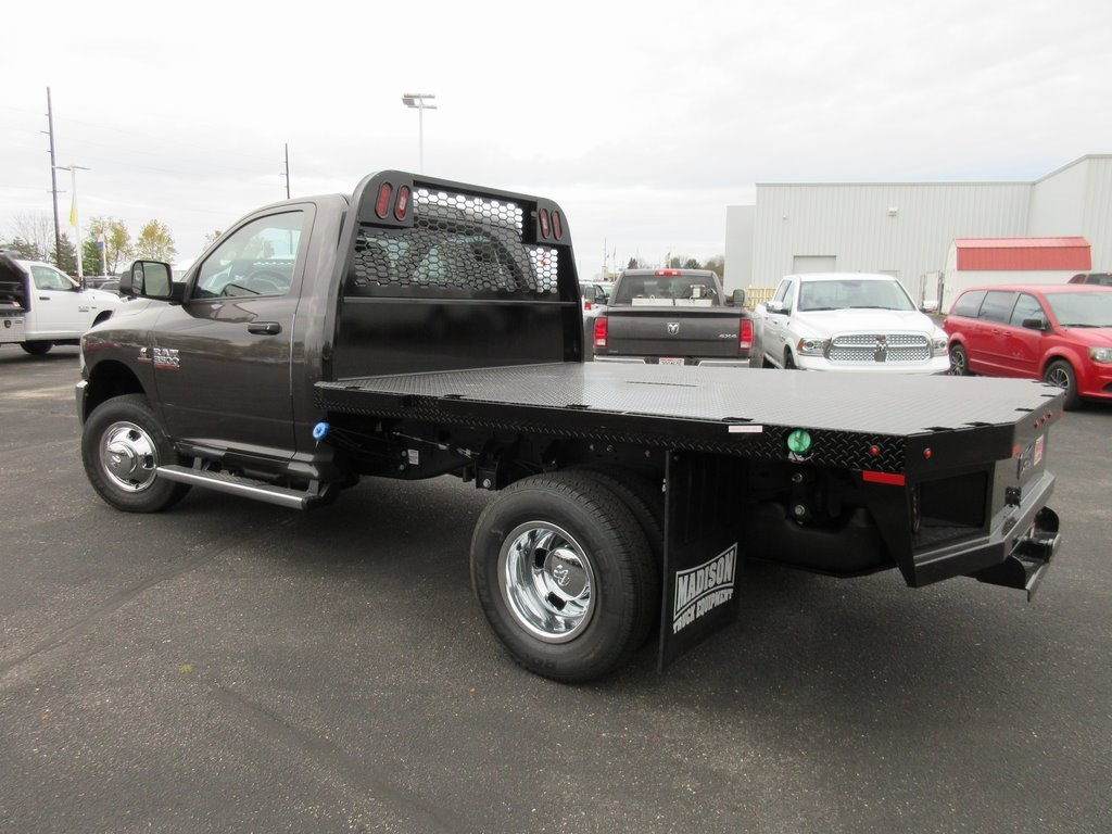 2018 Ram 3500 Regular Cab DRW 4x4, Knapheide Platform Body #J8011 - photo 7