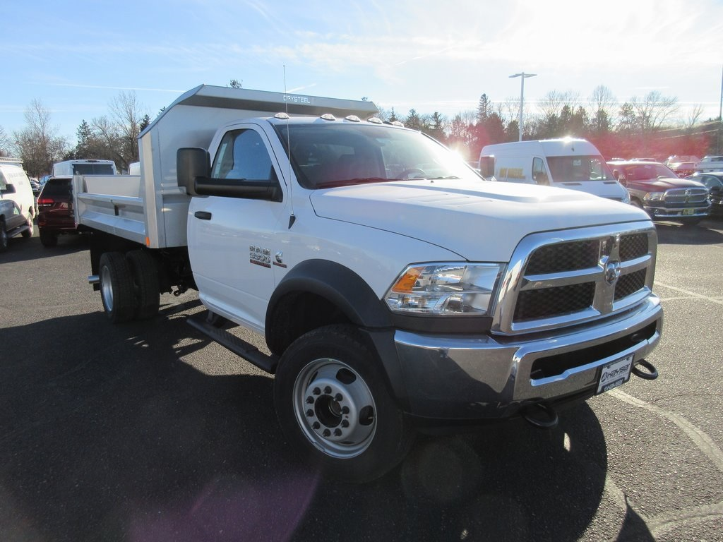 2018 Ram 5500 Regular Cab DRW 4x4, Crysteel S-Tipper Dump Body #J8062 - photo 36