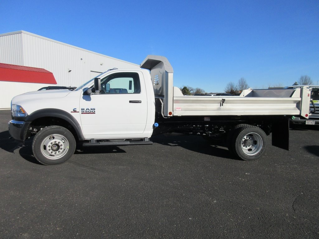 2018 Ram 5500 Regular Cab DRW 4x4, Crysteel S-Tipper Dump Body #J8062 - photo 6