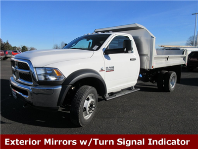 2018 Ram 5500 Regular Cab DRW 4x4, Crysteel S-Tipper Dump Body #J8062 - photo 5