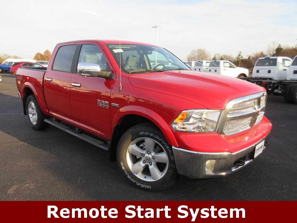 2018 Ram 1500 Crew Cab 4x4, Pickup #J8118 - photo 3