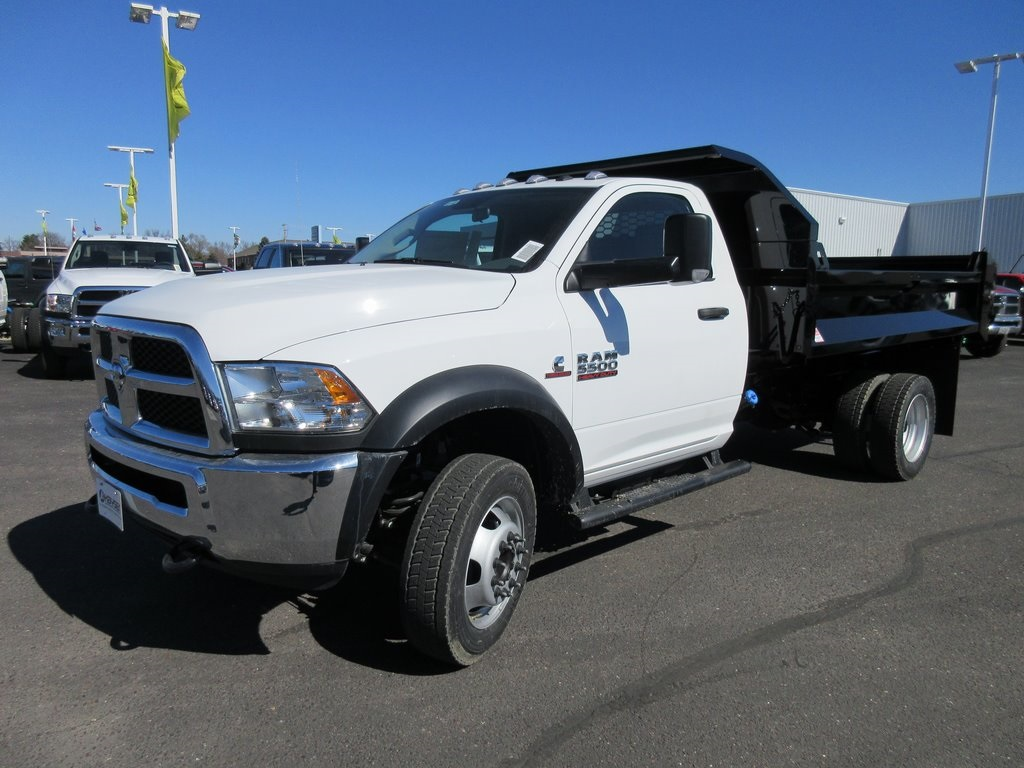 2018 Ram 5500 Regular Cab DRW 4x4, Dump Body #J8140 - photo 6