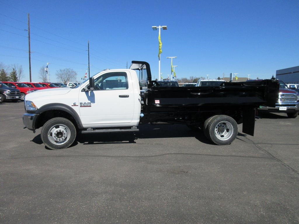 2018 Ram 5500 Regular Cab DRW 4x4, Dump Body #J8140 - photo 3