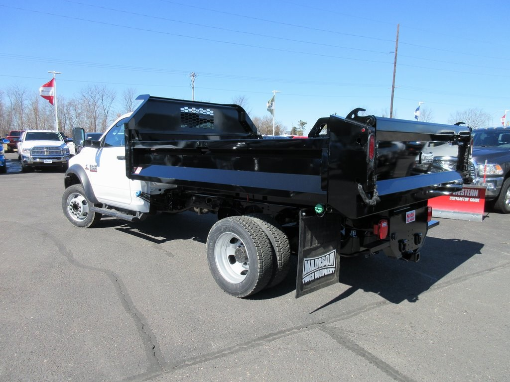 2018 Ram 5500 Regular Cab DRW 4x4, Dump Body #J8140 - photo 8