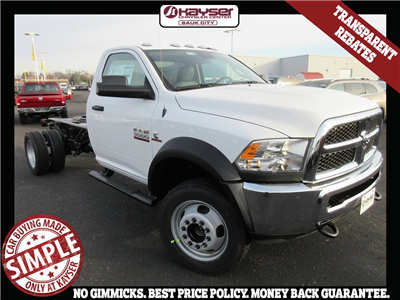 2018 Ram 5500 Regular Cab DRW 4x4, Cab Chassis #J8140 - photo 1
