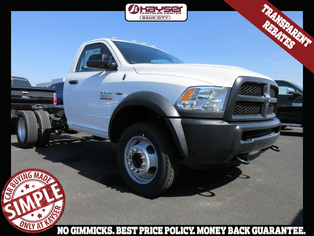 2018 Ram 5500 Regular Cab DRW 4x4, Cab Chassis #J8158 - photo 1