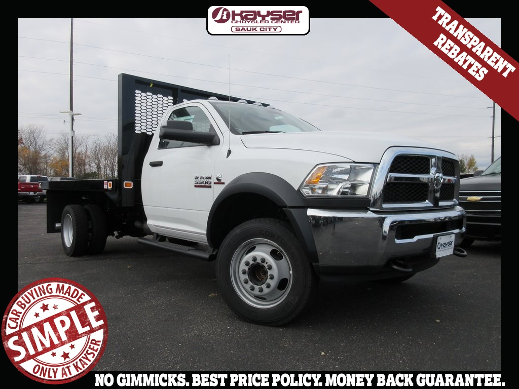 2018 Ram 5500 Regular Cab DRW 4x4,  Cab Chassis #J8275 - photo 1