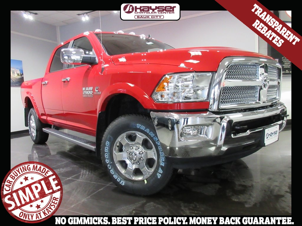 2018 Ram 2500 Crew Cab 4x4, Pickup #J8303 - photo 3