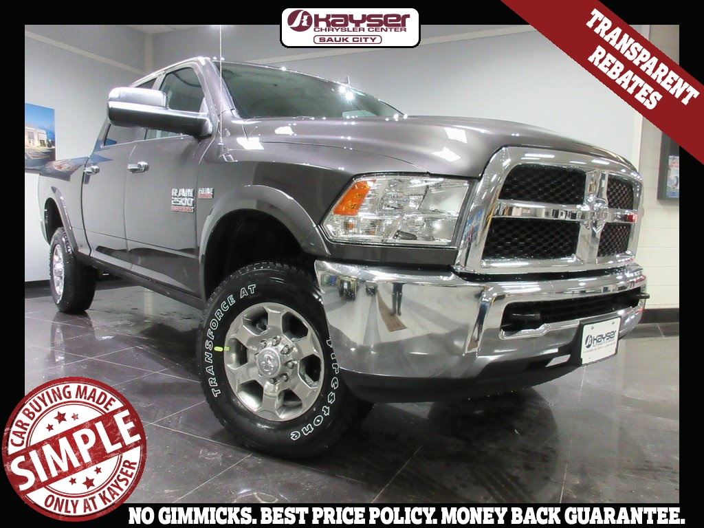 2018 Ram 2500 Crew Cab 4x4,  Pickup #J8322 - photo 1
