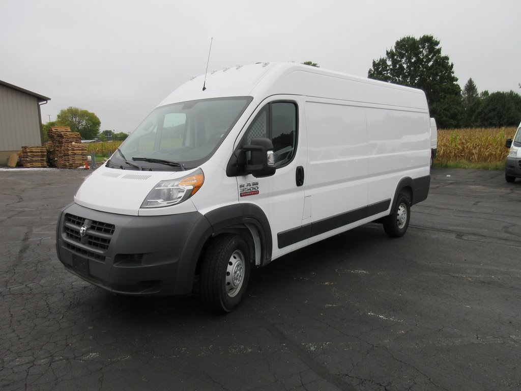 2018 ProMaster 3500 High Roof FWD,  Upfitted Cargo Van #J8534 - photo 4