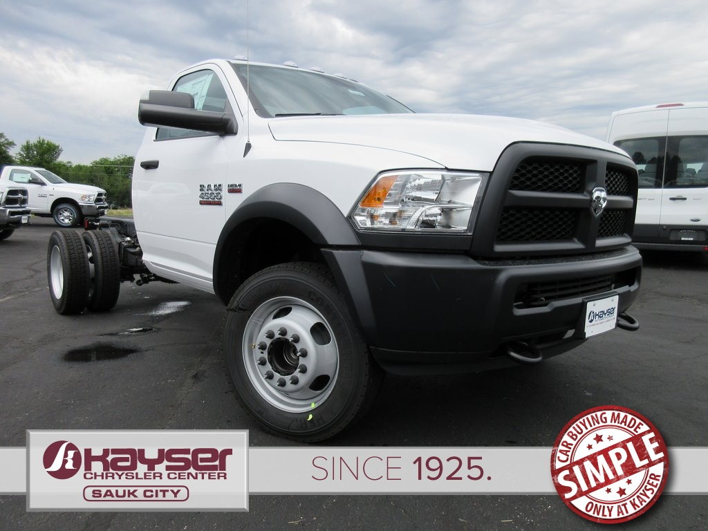 2018 Ram 4500 Regular Cab DRW 4x2,  Cab Chassis #J8588 - photo 1