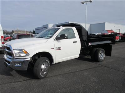 2018 Ram 3500 Regular Cab DRW 4x4,  Dump Body #J9111 - photo 6