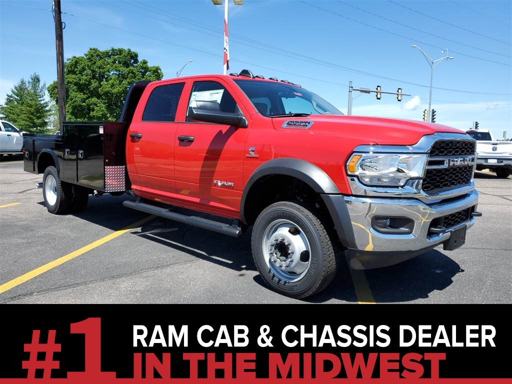 2020 Ram 5500 Crew Cab DRW 4x4, Knapheide Platform Body #L1014 - photo 1