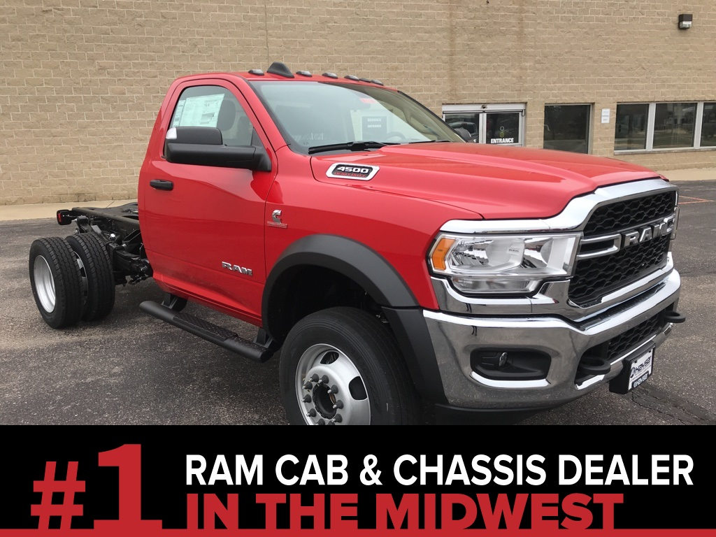 2020 Ram 4500 Regular Cab DRW 4x4, Cab Chassis #L1188 - photo 1