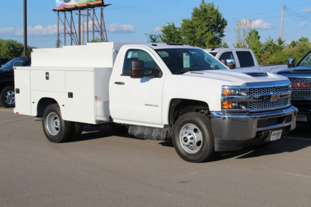 2019 Silverado 3500 Regular Cab DRW 4x4,  Knapheide Service Body #105401 - photo 3