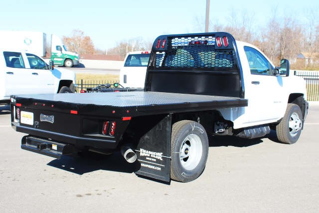 2019 Silverado 3500 Regular Cab DRW 4x4,  Knapheide Platform Body #105941 - photo 2