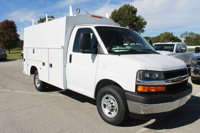 2017 Express 3500, Knapheide Service Utility Van #107492 - photo 3