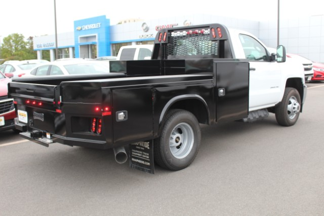 2019 Silverado 3500 Regular Cab DRW 4x4,  Knapheide Platform Body #109302 - photo 2