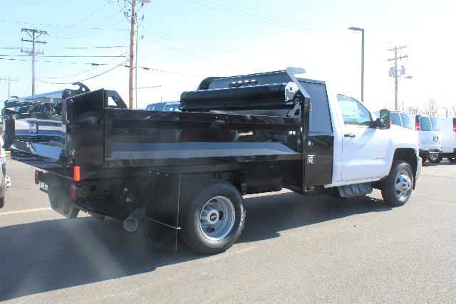 2018 Silverado 3500 Regular Cab DRW 4x4,  Knapheide Dump Body #149225 - photo 2