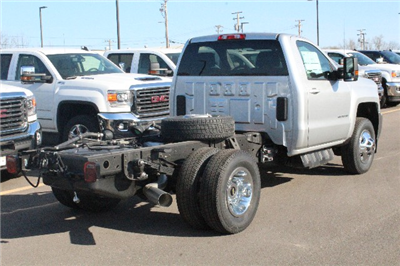 2018 Silverado 3500 Regular Cab DRW 4x4,  Cab Chassis #204855 - photo 2