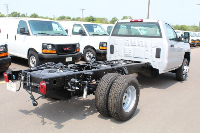 2017 Silverado 3500 Regular Cab DRW 4x4,  Cab Chassis #217750 - photo 2