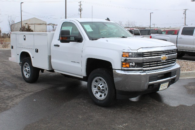 2017 Silverado 3500 Regular Cab 4x4,  Knapheide Service Body #278052 - photo 3