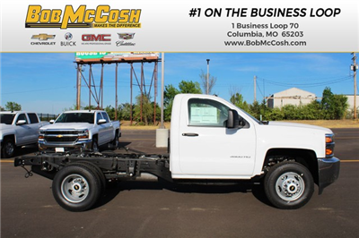 2017 Silverado 3500 Regular Cab DRW 4x4,  Cab Chassis #282488 - photo 1