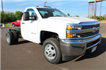 2017 Silverado 3500 Regular Cab DRW 4x4,  Cab Chassis #282488 - photo 3