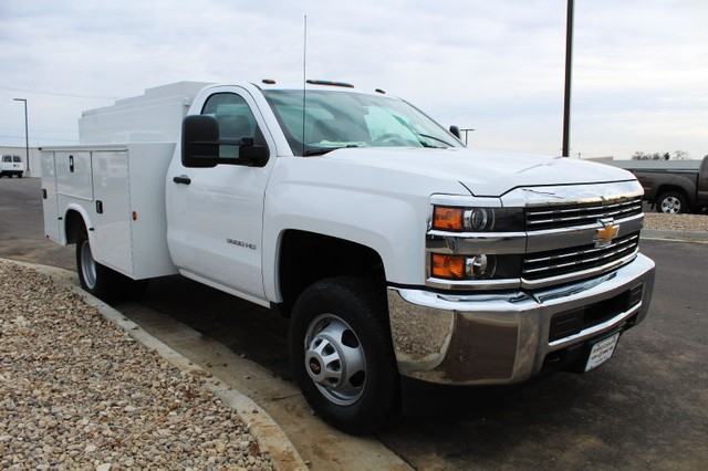 2016 Silverado 3500 Regular Cab DRW 4x2,  Knapheide Service Body #369906 - photo 3
