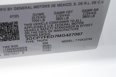2021 Silverado 1500 Crew Cab 4x4,  Pickup #427067 - photo 17