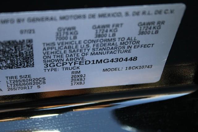 2021 Silverado 1500 Crew Cab 4x4,  Pickup #430448 - photo 17