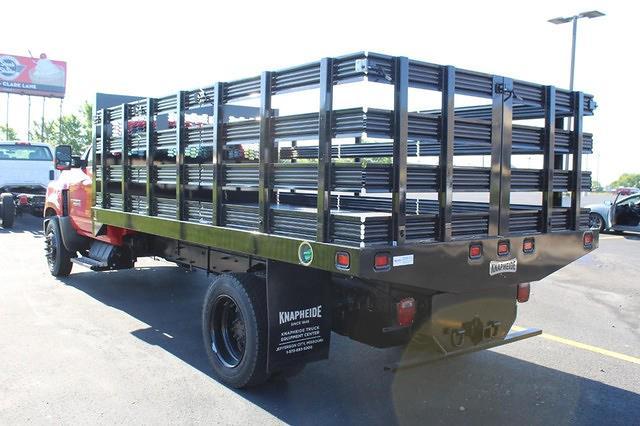 2020 Chevrolet Silverado Medium Duty Regular Cab DRW 4x2, Stake Bed #617794 - photo 4