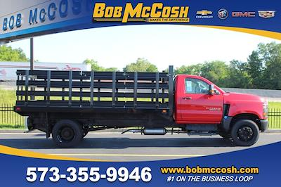 2020 Chevrolet Silverado Medium Duty Regular Cab DRW 4x2, Stake Bed #617794 - photo 1