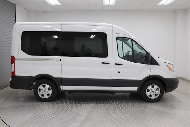 2018 Transit 150 Med Roof, Passenger Wagon #J120010 - photo 4
