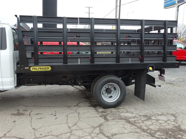 2018 F-350 Regular Cab DRW, Palfinger Heavy Duty Stakebeds Stake Bed #1838 - photo 9