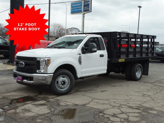 2018 F-350 Regular Cab DRW, Palfinger Heavy Duty Stakebeds Stake Bed #1838 - photo 3