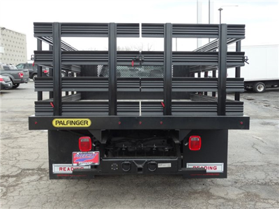 2018 F-350 Regular Cab DRW, Palfinger Heavy Duty Stakebeds Stake Bed #1838 - photo 7