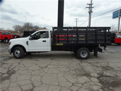 2018 F-350 Regular Cab DRW, Palfinger Heavy Duty Stakebeds Stake Bed #1838 - photo 8
