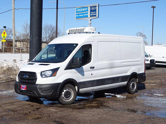 2020 Ford Transit 250 Med Roof 4x2, Thermo King Refrigerated Body #3096 - photo 1