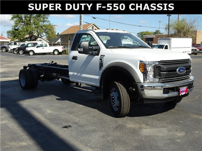 2017 F-550 Regular Cab DRW, Cab Chassis #6324 - photo 1