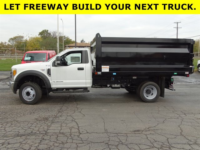 2017 F-450 Regular Cab DRW, Rugby Landscape Dump #6332 - photo 8