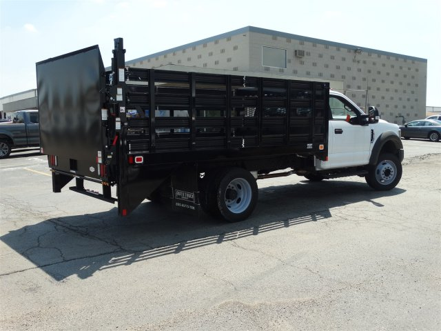 2018 F-450 Regular Cab DRW 4x2,  Knapheide Stake Bed #6365 - photo 9