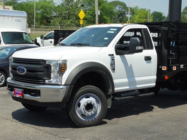 2018 F-450 Regular Cab DRW 4x2,  Knapheide Stake Bed #6365 - photo 5