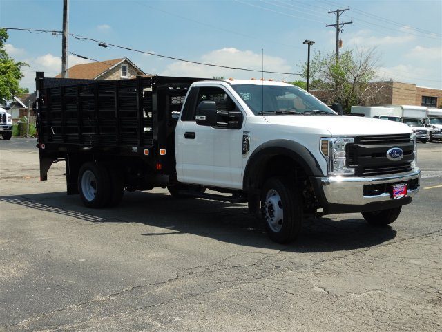 2018 F-450 Regular Cab DRW 4x2,  Knapheide Stake Bed #6365 - photo 8