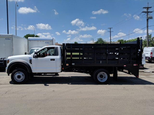 2018 F-450 Regular Cab DRW 4x2,  Knapheide Stake Bed #6365 - photo 3