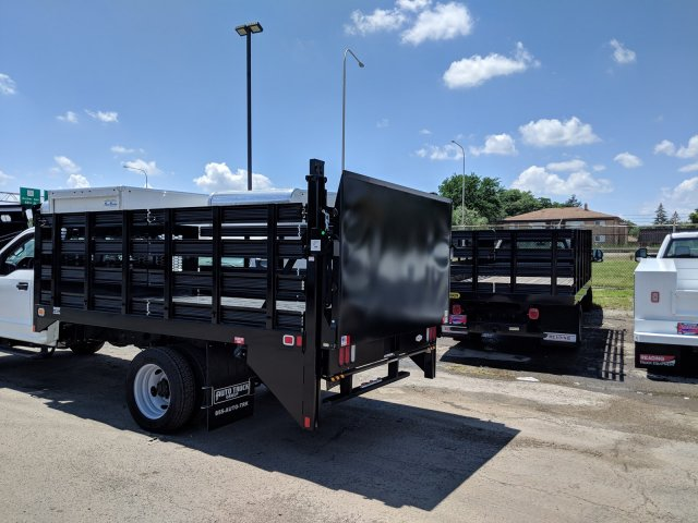 2018 F-450 Regular Cab DRW 4x2,  Knapheide Stake Bed #6365 - photo 2